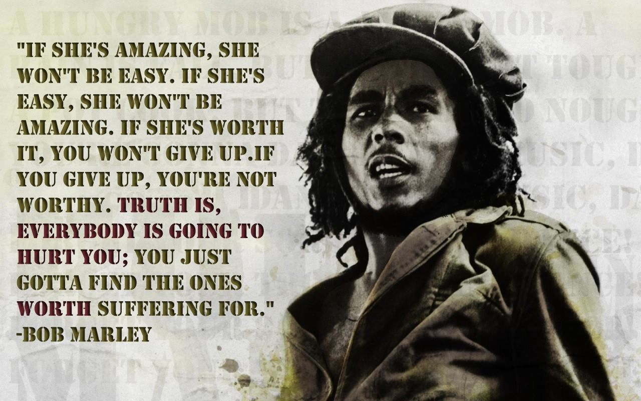 Bob Marley Quote Quotes Quote Girl Famous Quotes Girly Quotes Girly