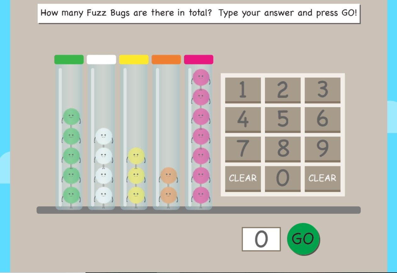 Graphing Online Game For Grade 1