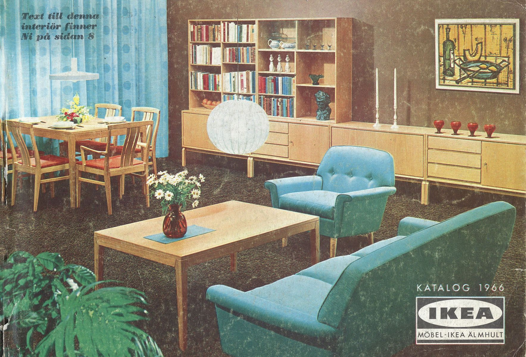 Moebel Ikea Katalog Ikea Catalog Covers From 1951 2018 Mcm Home Furniture Ads