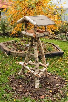 Photo of I diesem Blog geht es um die Gestaltung eines Naturgartens mit Materialien aus …
