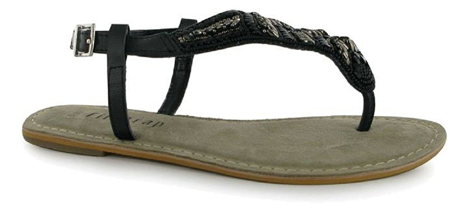 Ladies Firetrap Lynx T Post Firetrap branding Sandals -- To view further  for this item