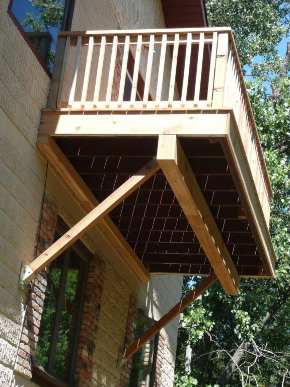 Cantilever Balcony Design Plans: Cantilevering A Deck - Google Search
