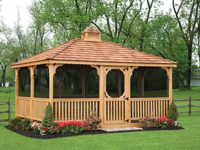 Image Result For Screened In Gazebo With Images Gazebo Plans