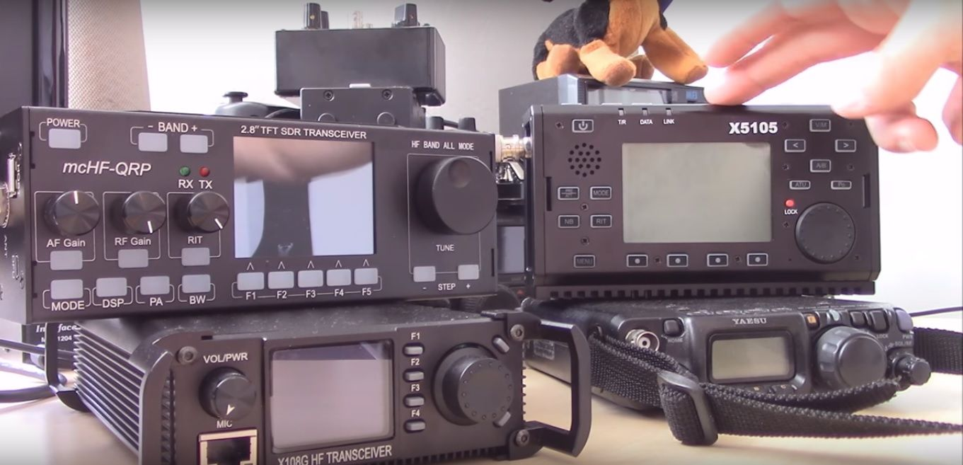 QRP Rig Comparison , FT817 / X108G / X5105 / mcHF RS-918 | Ham