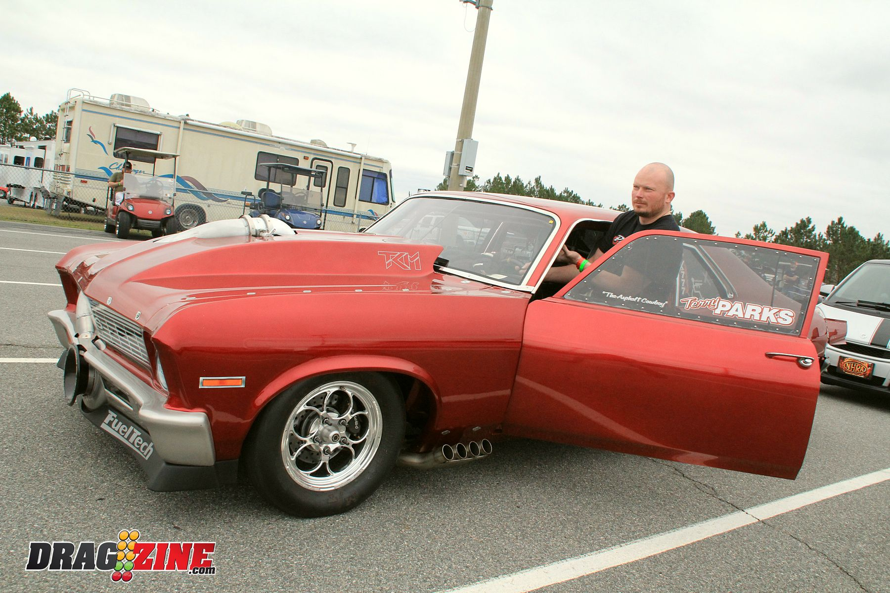 Terry Parks Chevy Nova Procharger X275 Drag Radial | Race Cars ...