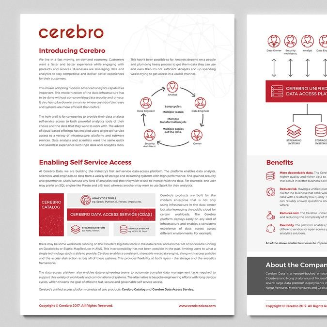 Whitepaper template for enterprise software startup by Ariesta05 - white paper template