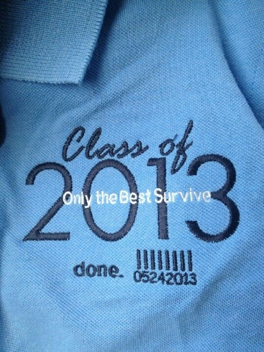 Senior polo shirt design