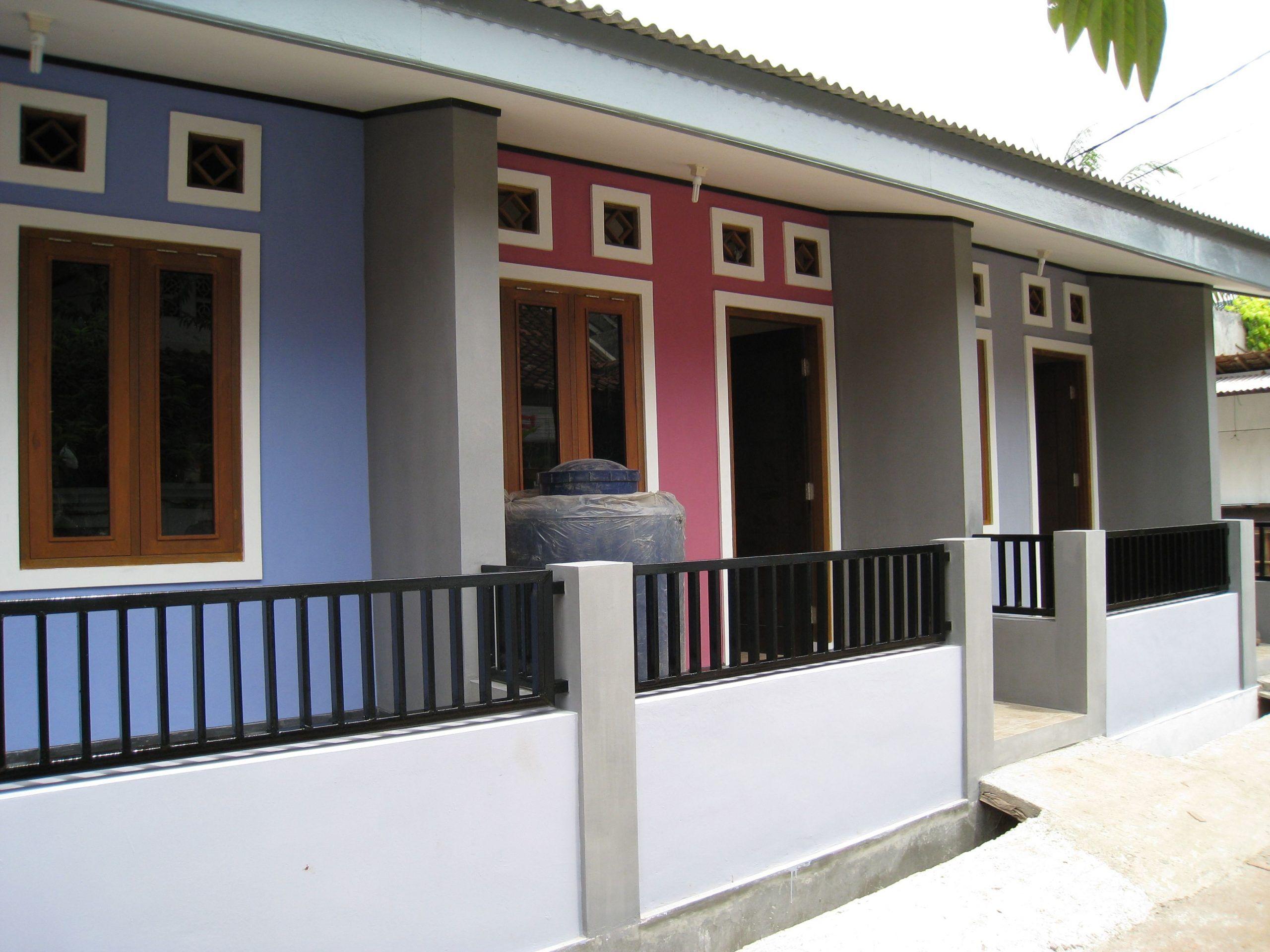 Desain Rumah Kontrakan Modern Desain Rumah Eksterior Rumah Desain Rumah