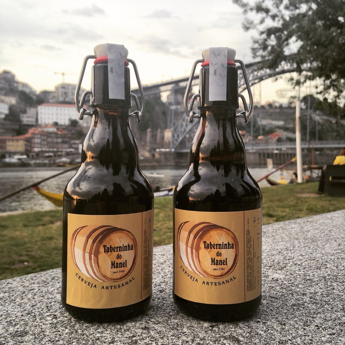 Our own artisanal beer!!