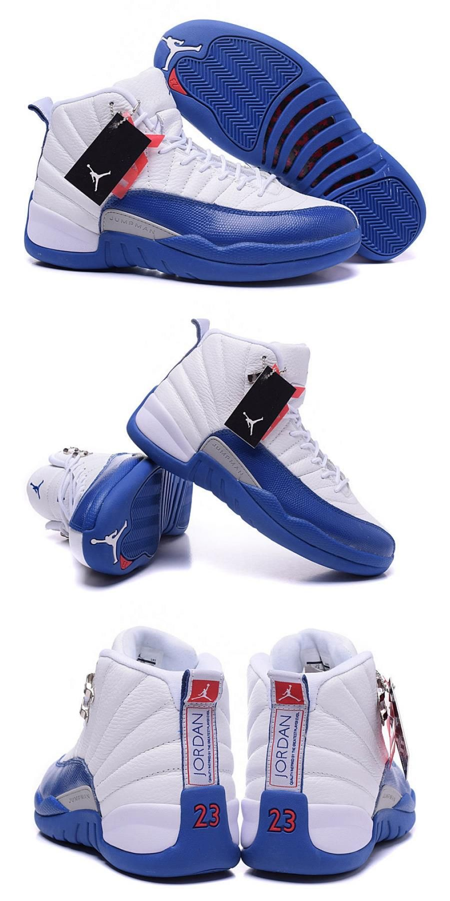 "Air Jordan 12 Retro ""french Blue"" For"