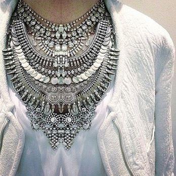 Multiple Rhinestone Necklaces