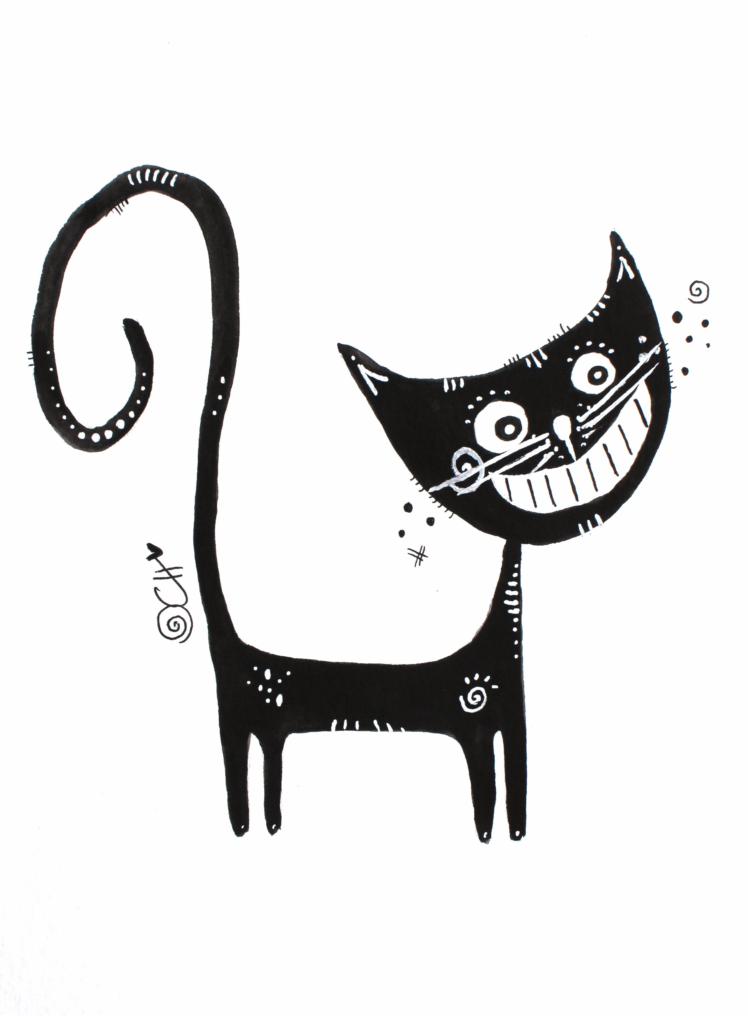 Ausmalbilder Rosina Wachtmeister Katzen : Lebensfreude Durch Kreativit T Fr Hliches Malen Grinsekatze