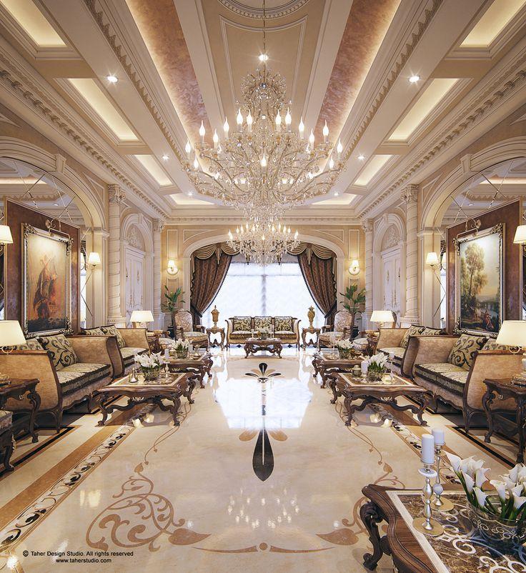 """Queen Qatar Luxury Homes: Luxury Mansion Interior """" Qatar """" Are You An Interior"""