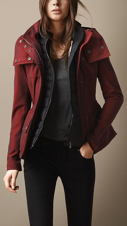 a273fb3082c3f Canvas Down-Filled Parka   Burberry   moodboard fashion   Pinterest ...