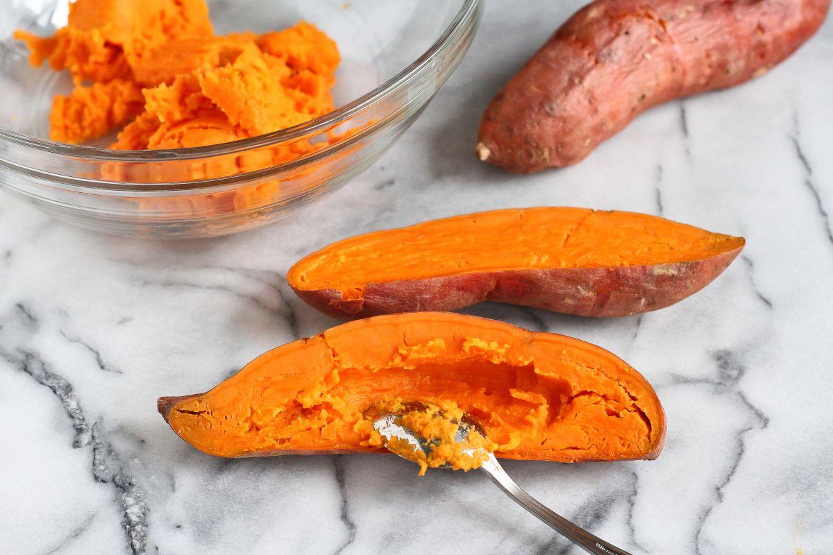 Sweet Potato Casserole with Sage Breadcrumbs