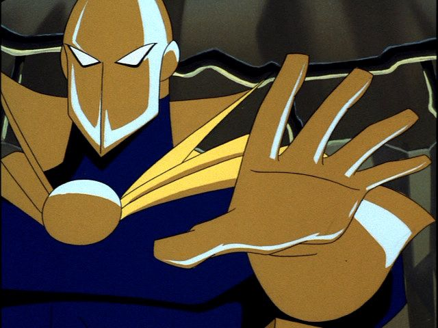 Dr. Fate appears in Superman: The Animated Series, Episode 32 ...