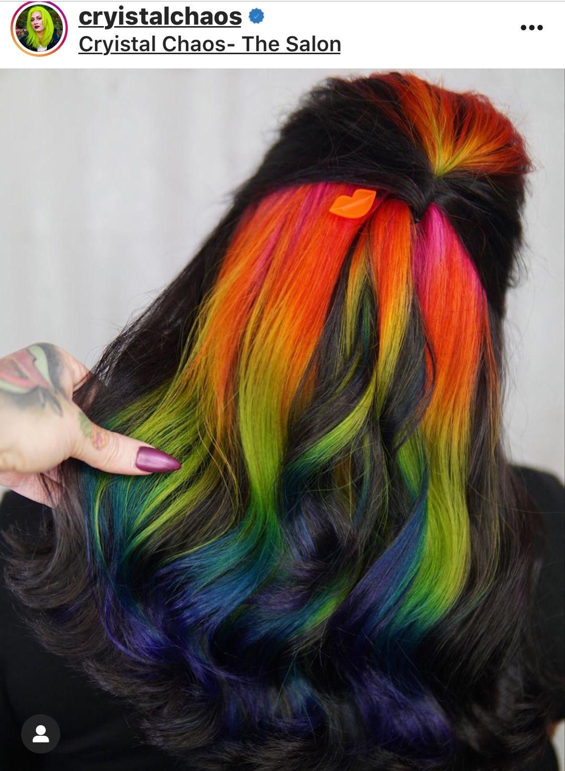 Pin by Orianna Greve on Vivid hair colour in 2020 Hair