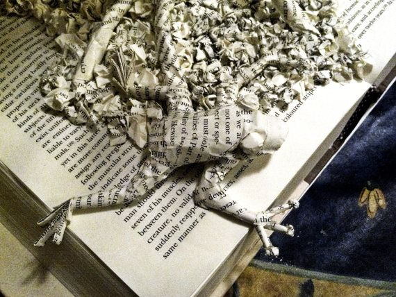 Personalizada libro escultura esculturas de papel por BeckyJArts