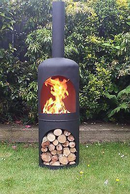 Gas Bottle Wood Burner/ Log Burner / Chiminea/patio Heater/ Fire Pit/yurt