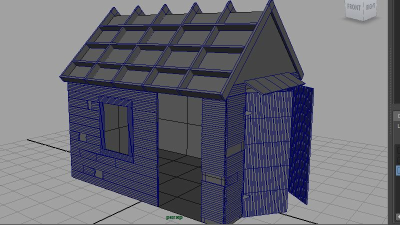 Seven Steps to Modeling a Detailed Building Asset in Maya