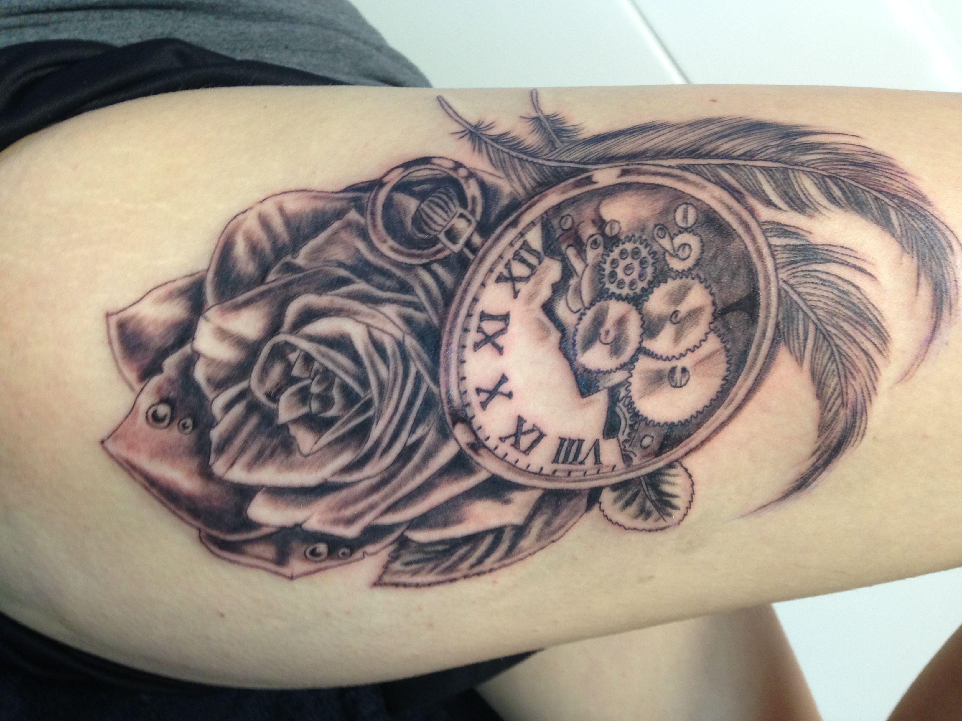 bovenbeen - Tattoo | Pinterest - Tatoeages en Nagel