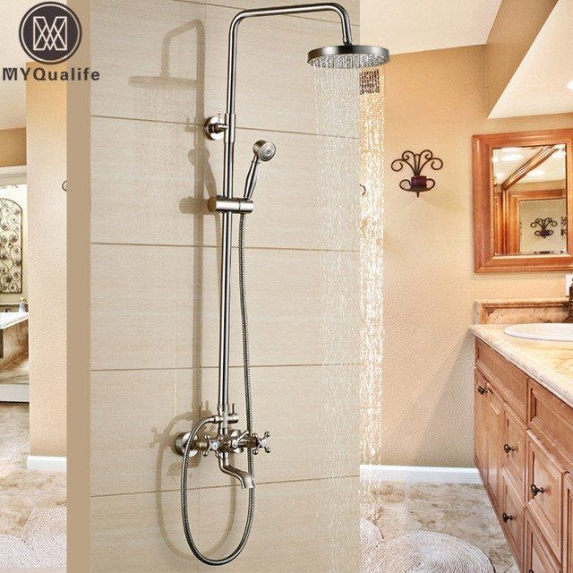 best outdoor shower faucets wall
