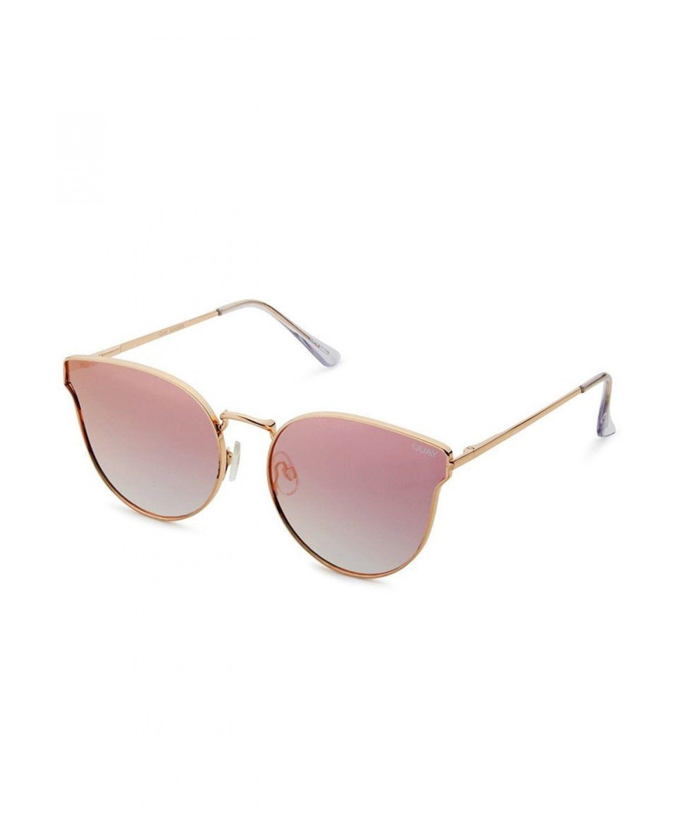 f9ef0d1a2d Quay Eyewear Australia All My Love Sunglasses - Rose Pink