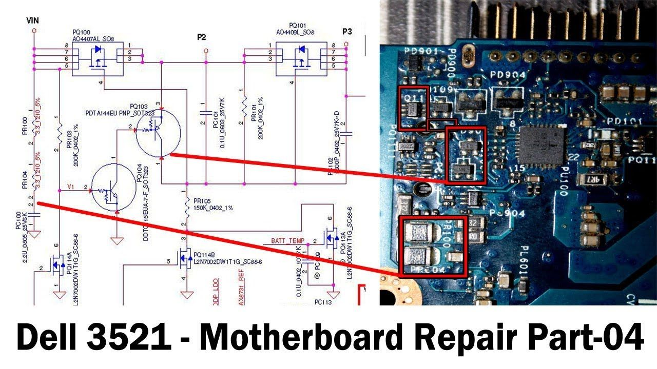 Fix Shorting Laptop Motherboard Dell 3521 Part 04 Laptop Motherboard Motherboard Laptop Repair