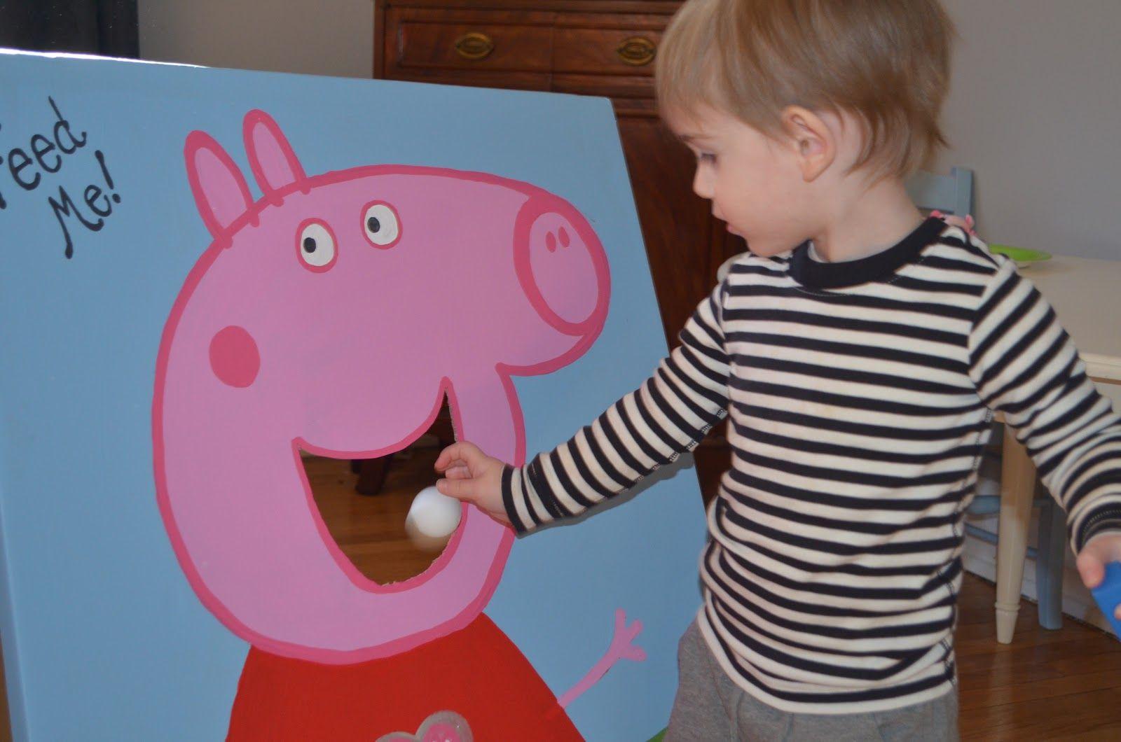 Three Friends Paint Peppa Pig Birthday Party Decorations Peppa Pig Birthday Party Peppa Pig Birthday
