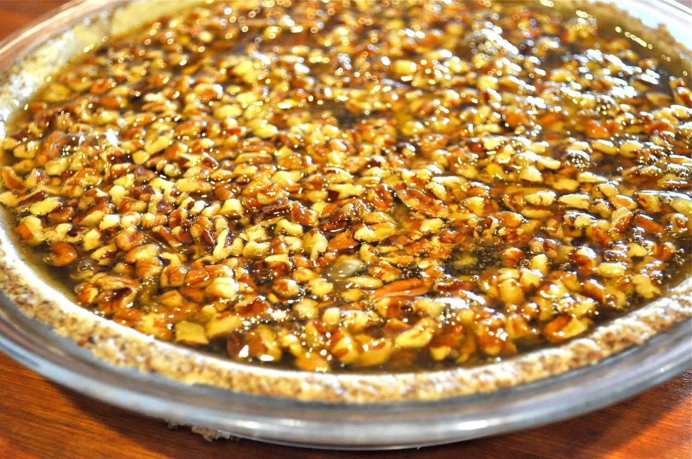 Paleo Pecan Pie | Fed and Fit