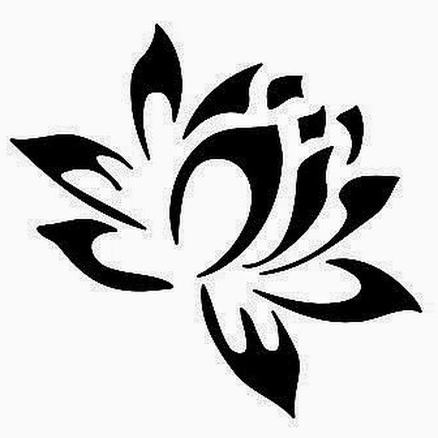 Lotus Flower Tribal Tattoo Designs 25 Best Tribal Lotus Tattoos Idea