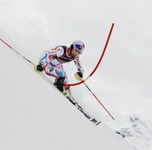 Alexis Pinturault wins the Slalom of the French Alpine Skiing Championships in Les Ménuires - 27/03/16