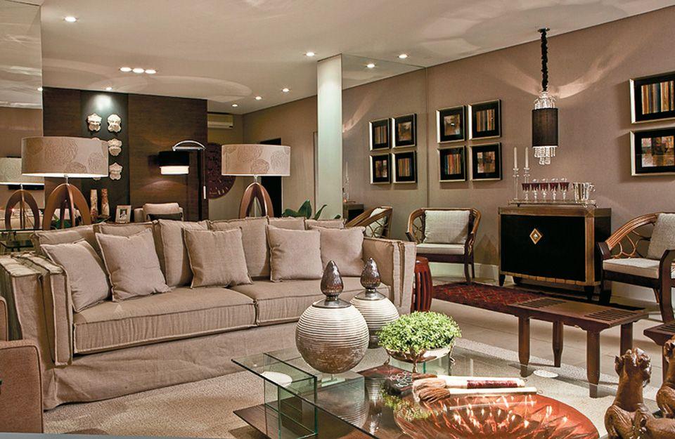 17 salas grandes integradas com cozinha sala de jantar e for Sofa para sala de tv