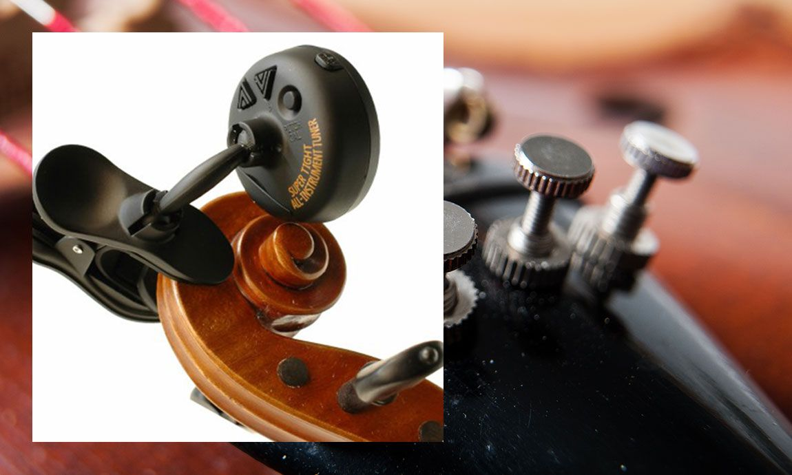 Electronic Tuners Essential Violin Accessories for