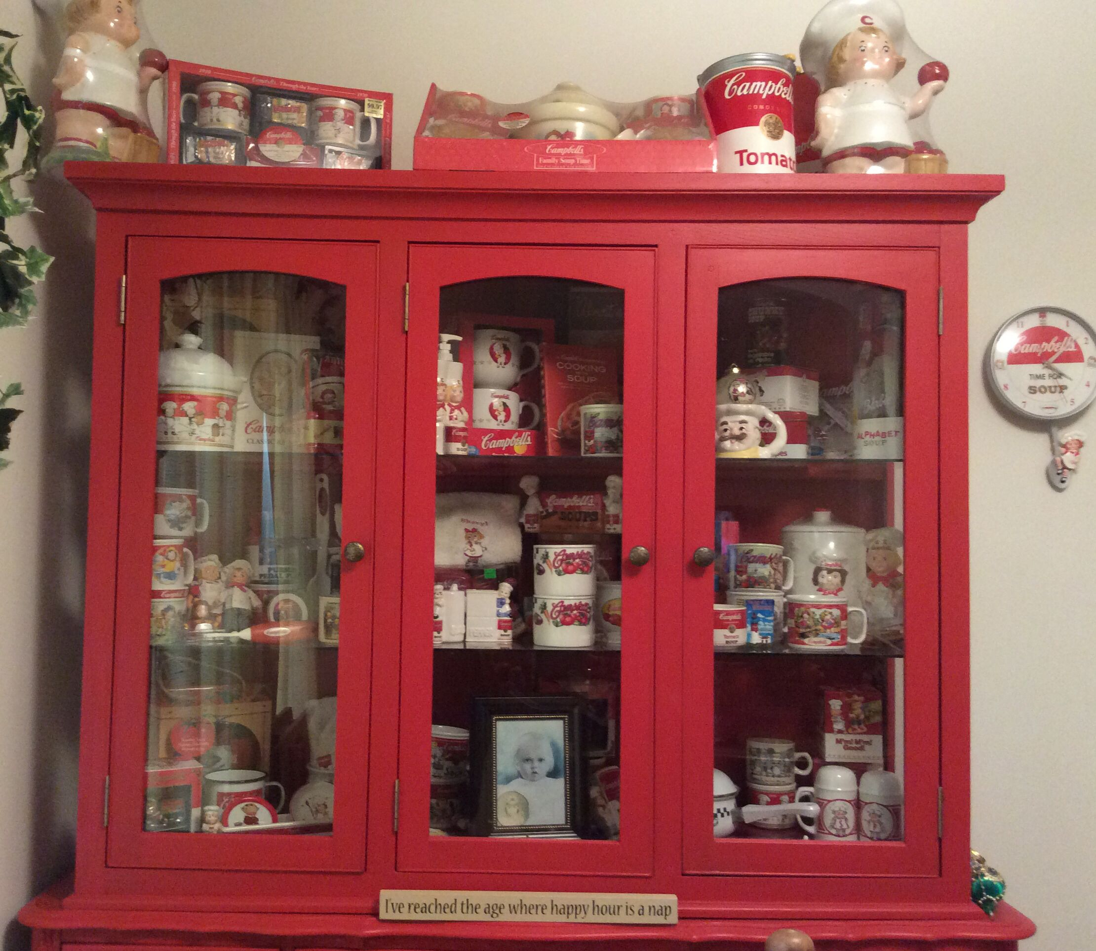 Part Of My Campbell S Soup Collection Kitchen Themes Campbell Soup Campbells Kitchen