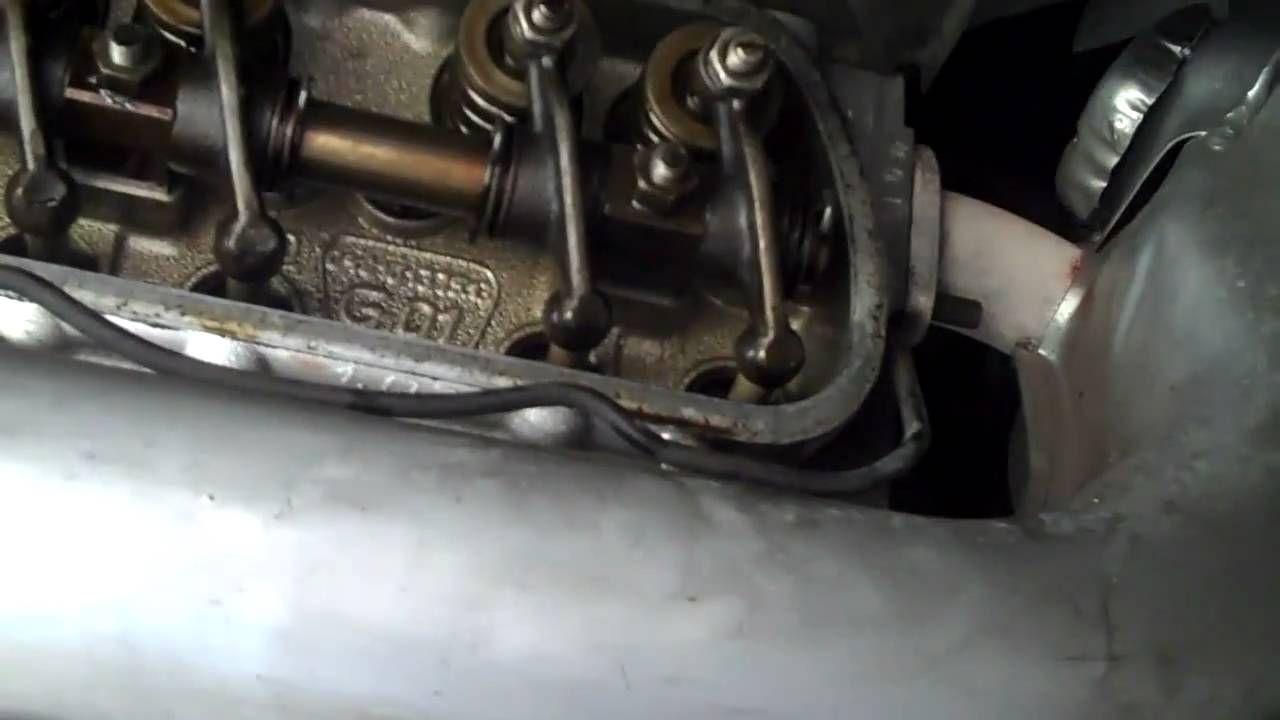 hight resolution of valve adjustment oil fuel filter change on a 72 vw bu