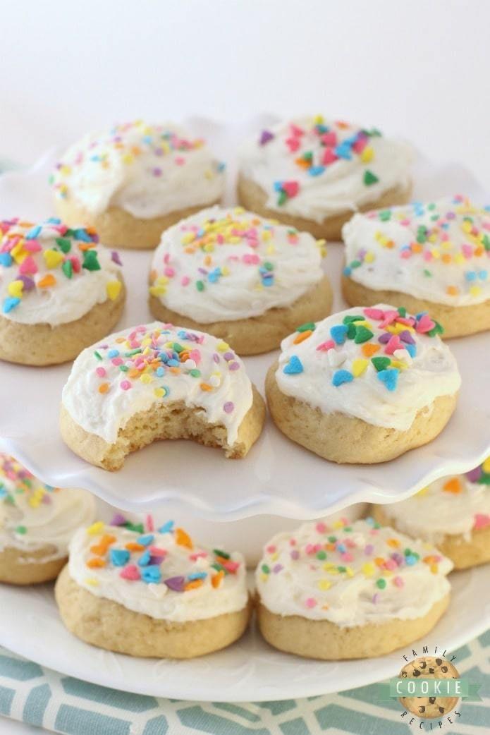 Buttermilk Sugar Cookies Family Cookie Recipes Recipe Sour Cream Sugar Cookies Cookie Recipes Sugar Cookies Recipe