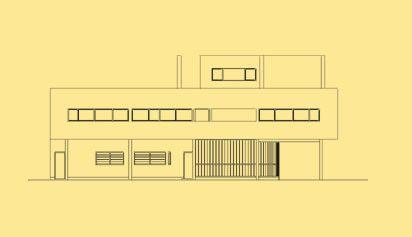 Villa Savoye Planos   Buscar Con Google