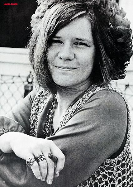 Janis Joplin - Columbia Records - 1970 - Promotional Poster