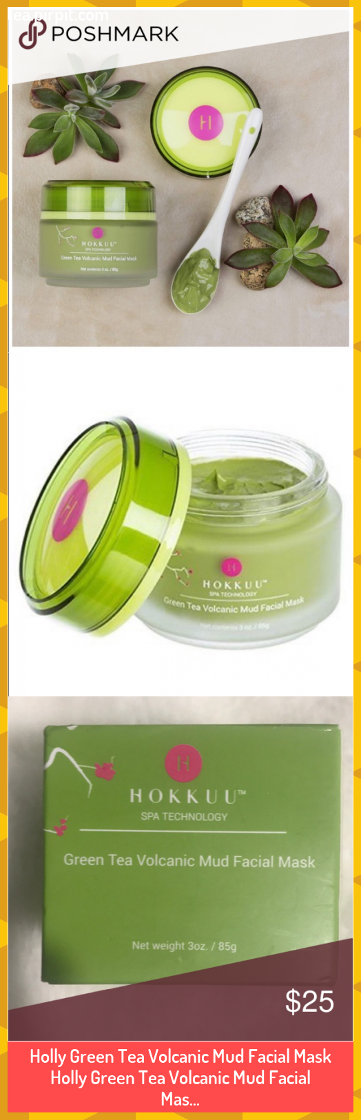 Photo of Holly Green Tea Volcanic Mud Facial Mask Holly Green Tea Volcanic Mud Facial Mas…