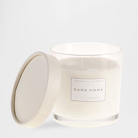 Vela arom tica white jasmine white jasmine frag ncia zara home portugal casa pinterest - Zara home portugal ...