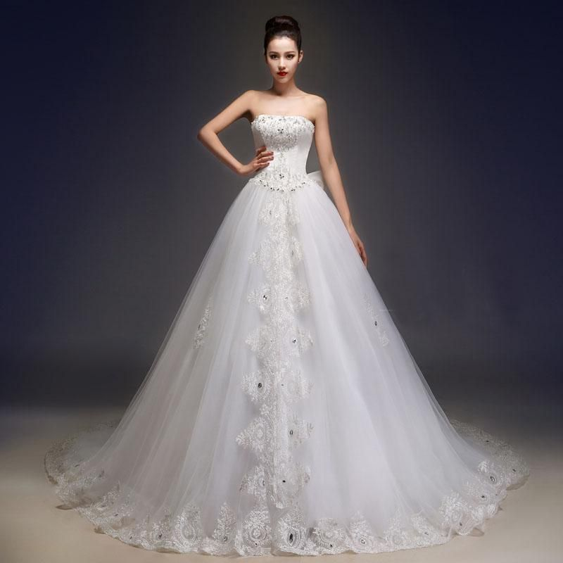 Wedding Dress For Sale 2015 New Arrival A Line White