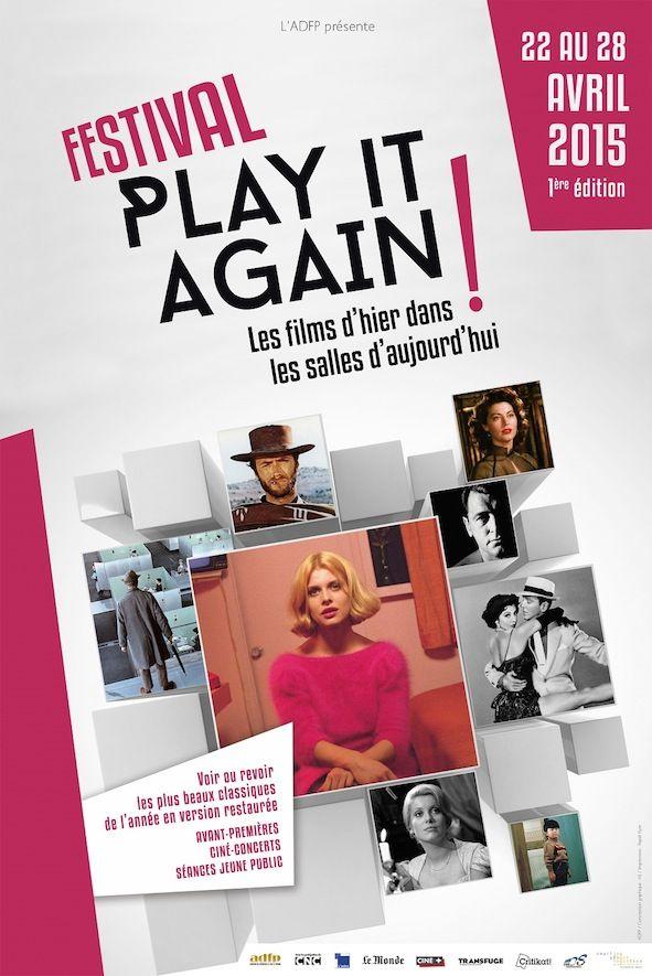 Première édition du festival Play It Again du 22 au 28 avril 2015