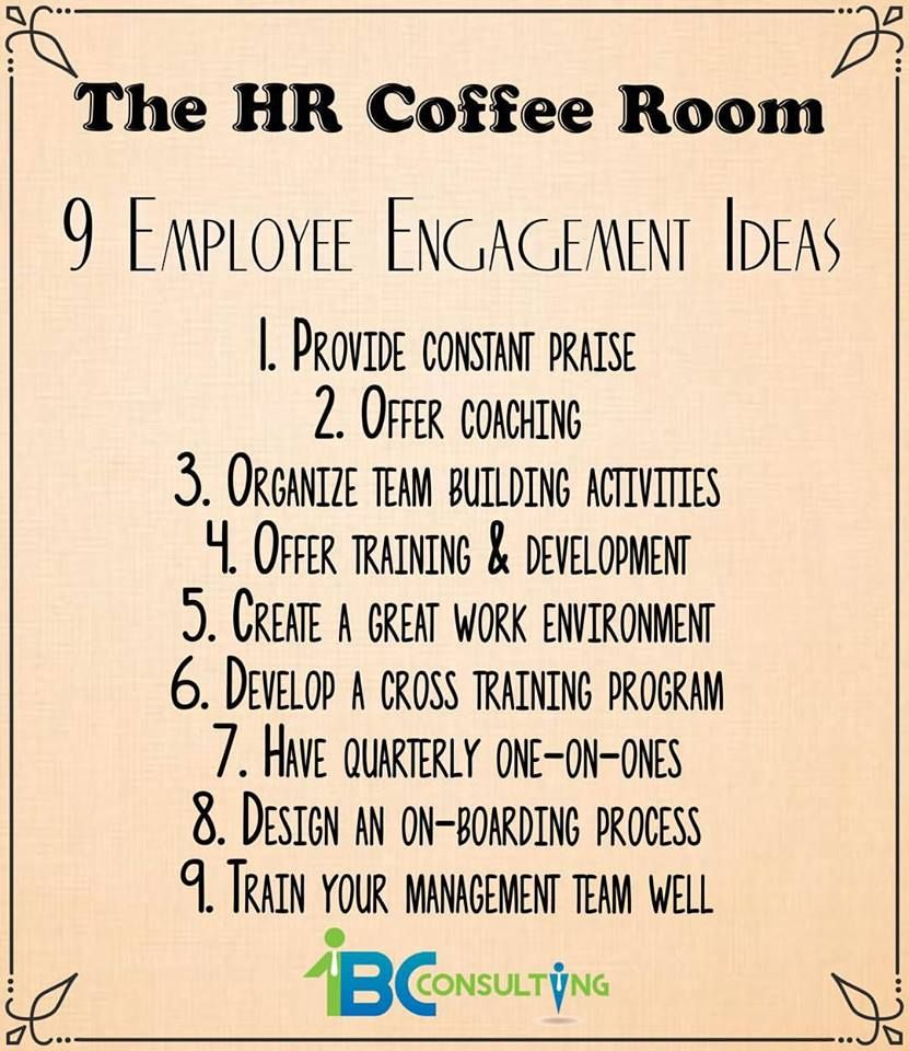 9 Employee Engagement Ideas