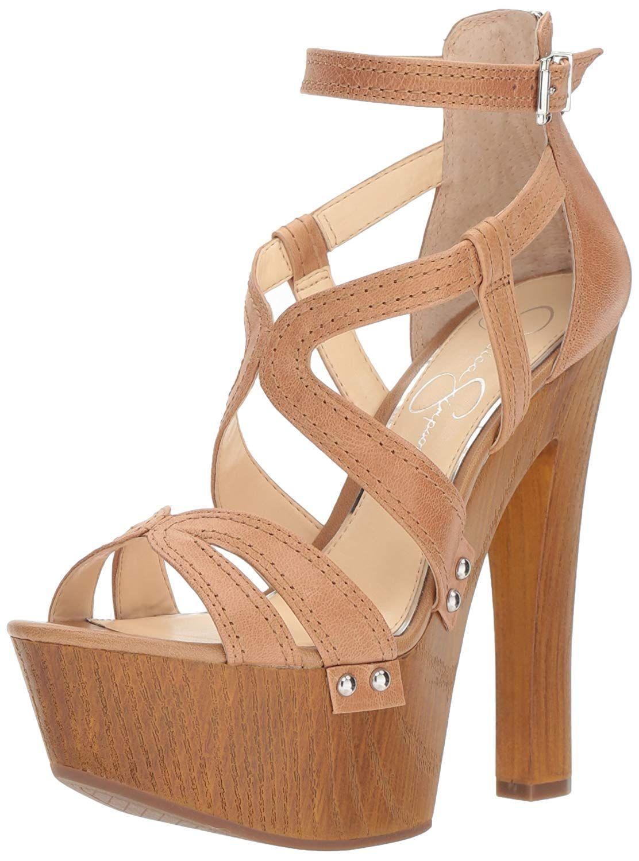1355f0f0ad24 Jessica Simpson Women s Dorrin Heeled Sandal. Sexy High Platform Sandal  Jessica Simpson is famous for