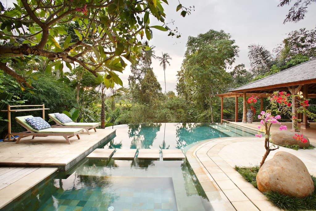 Check Out This Awesome Listing On Airbnb Eco Luxury Family Friendly Villa Villas For Rent In Ubud Ubud Bali Eco Luxury