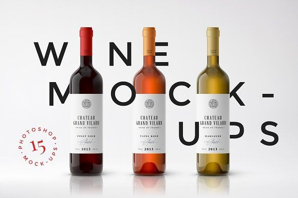 Download Wine Packaging Mockups Wine Packaging Bottle Mockup Packaging Mockup