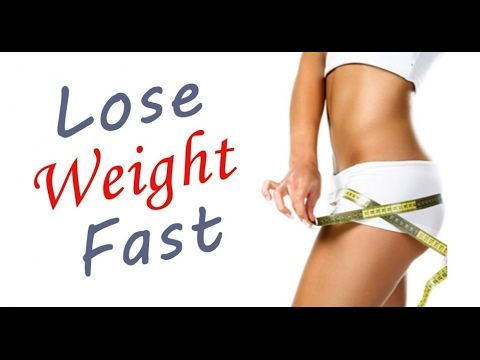 How to lose weight fast - Quickest Way to Lose Weight!