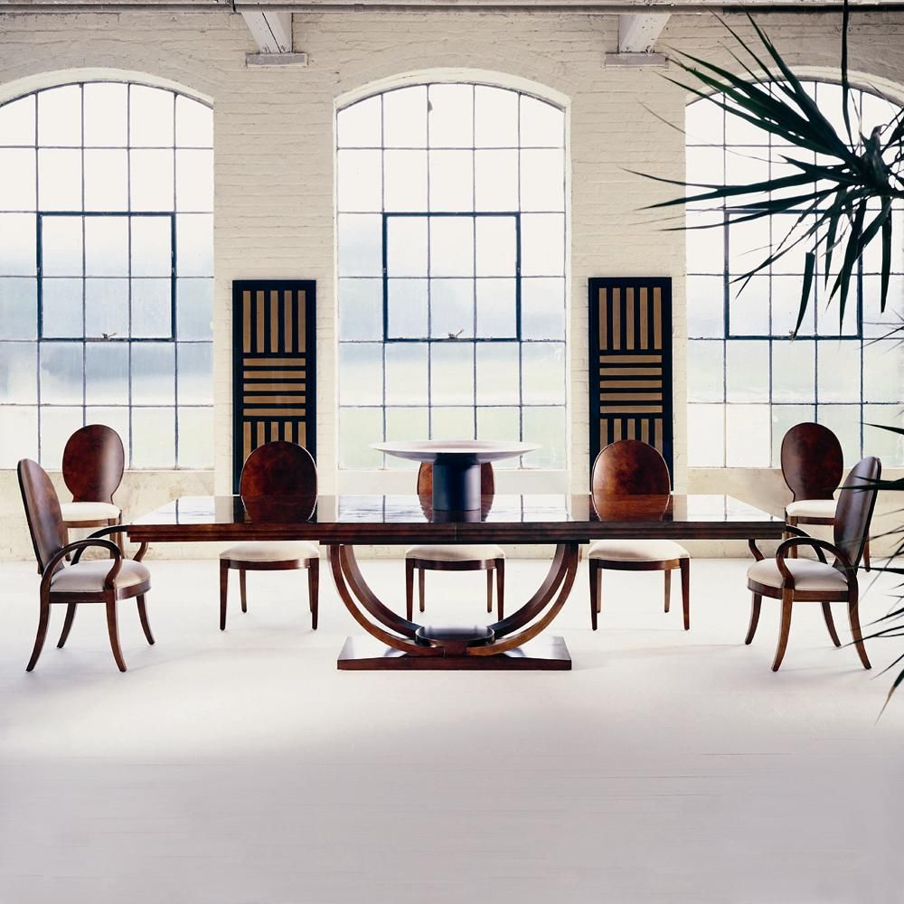 Omni 78 Dining Table With Two Removable Leaves By Century