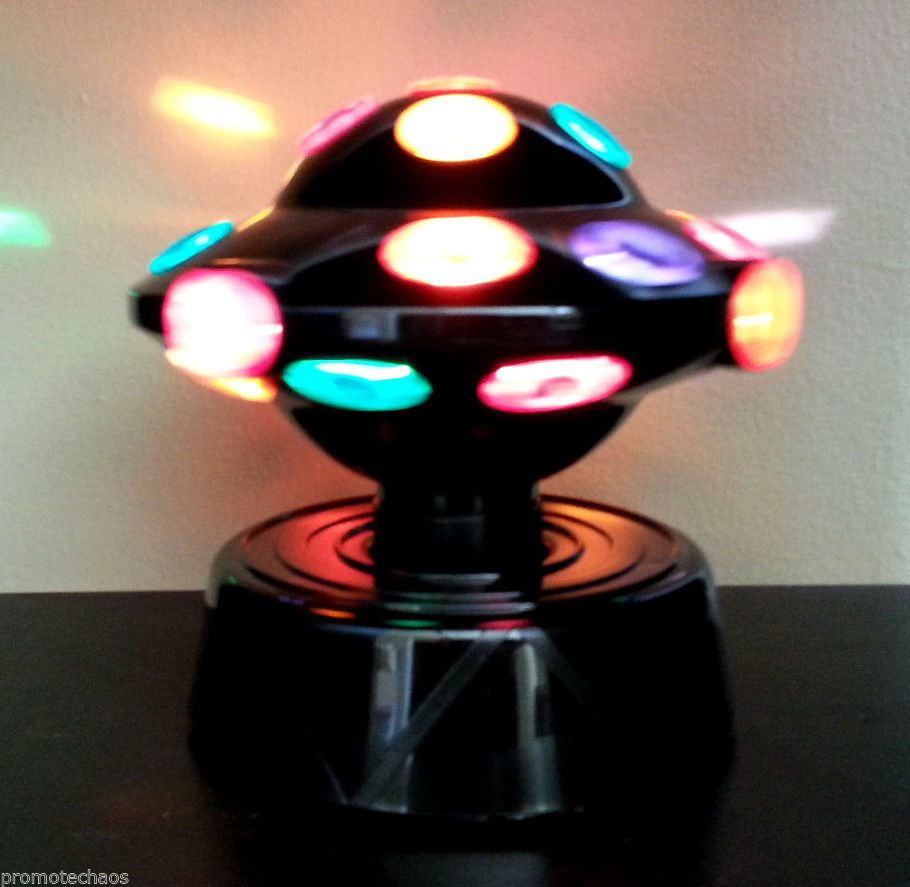 Ufo disco light ball desk table lamp dj party rotating colors red ufo disco light ball desk table lamp dj party rotating colors red blue green new geotapseo Choice Image